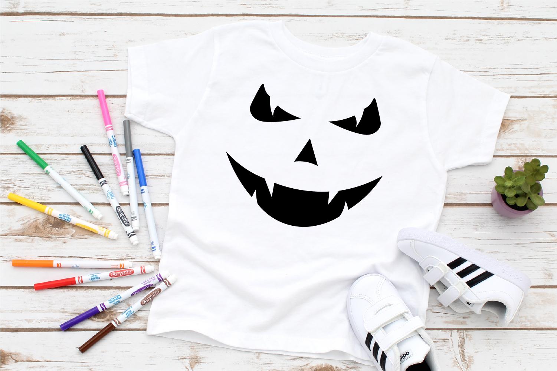 Halloween Faces Bundle Svg, Halloween Bundle Svg, Scary Svg example image 3