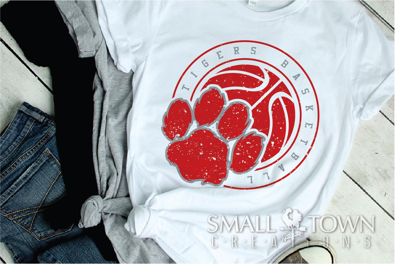 Tigers basketball, tiger mascot, team, PRINT, CUT, DESIGN example image 8