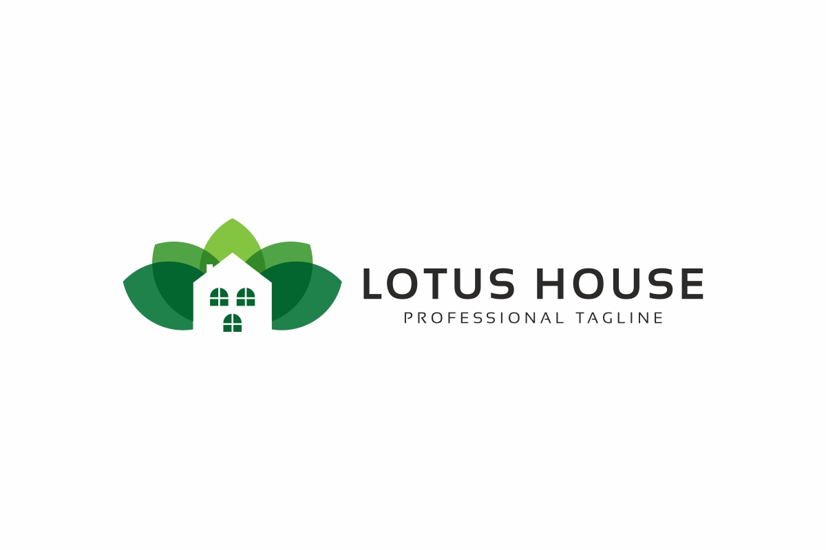 Lotus House Logo example image 3