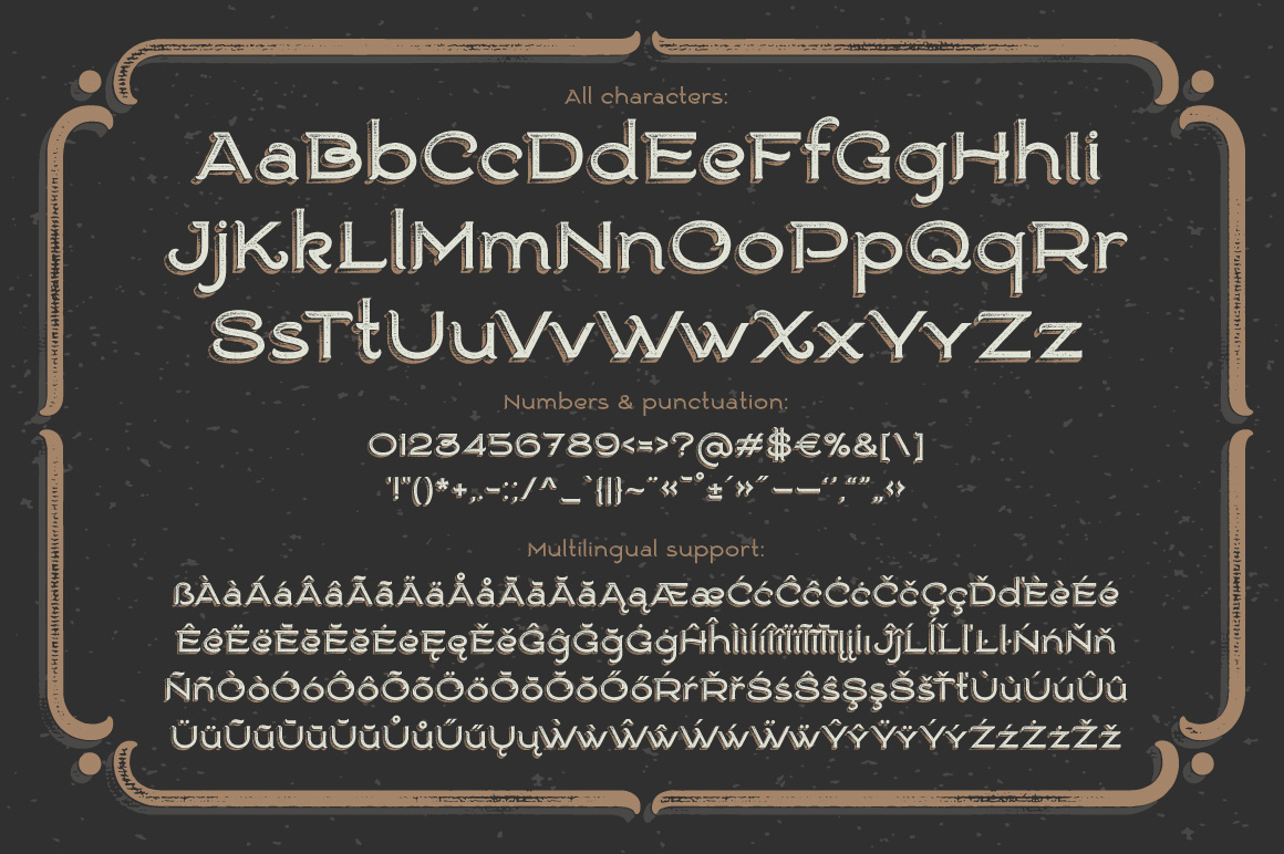 Ranch vintage font & illustrations example image 6