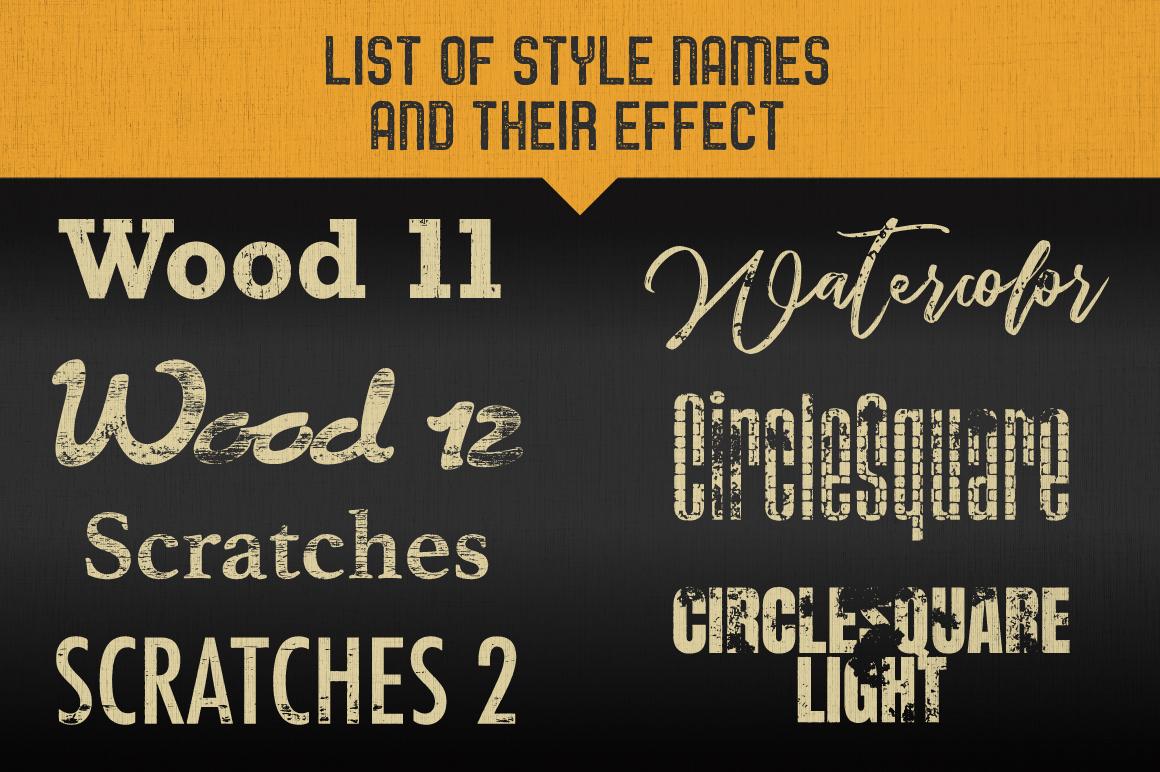 Letterpress Vector Textures example image 12