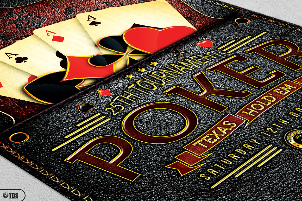 Poker Tournament Flyer Template example image 10
