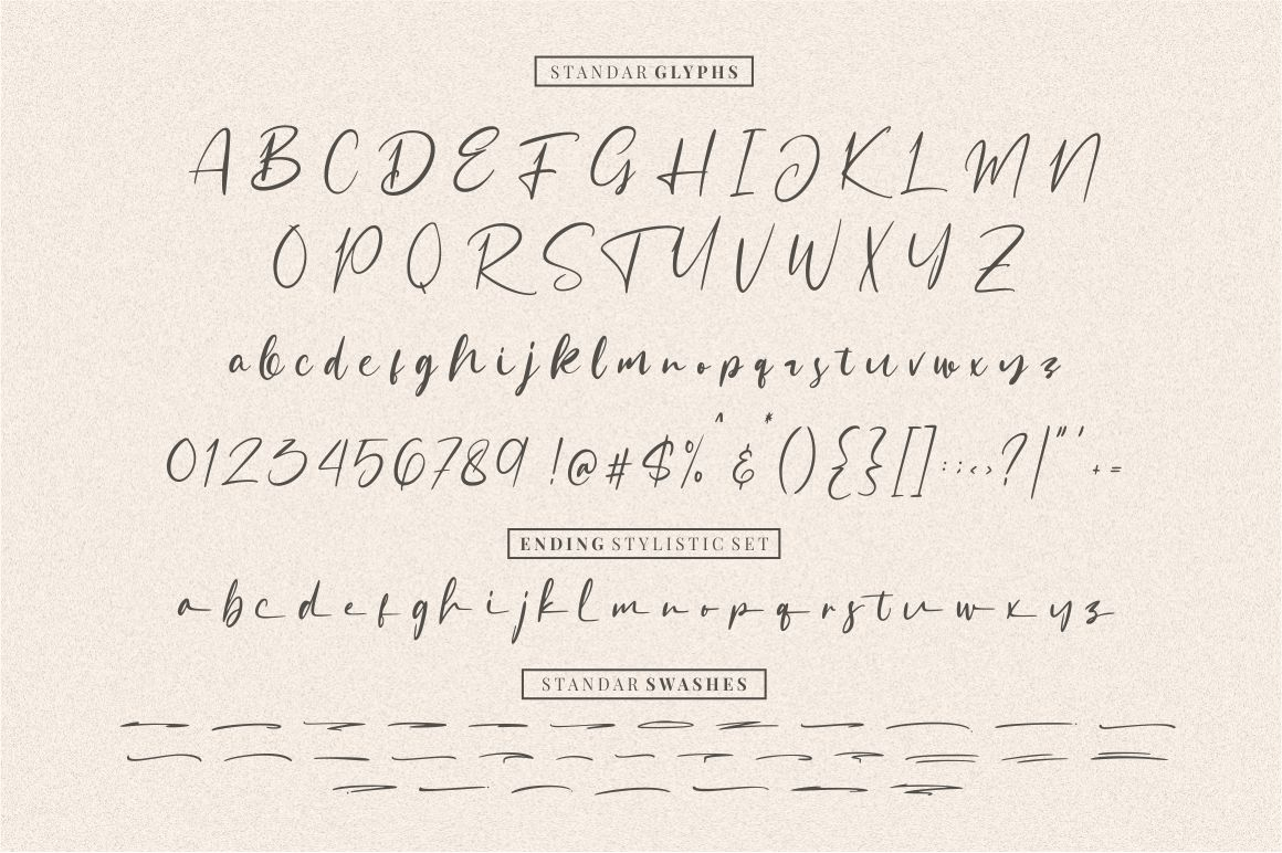 Sattersoon - Modern Script Font example image 7