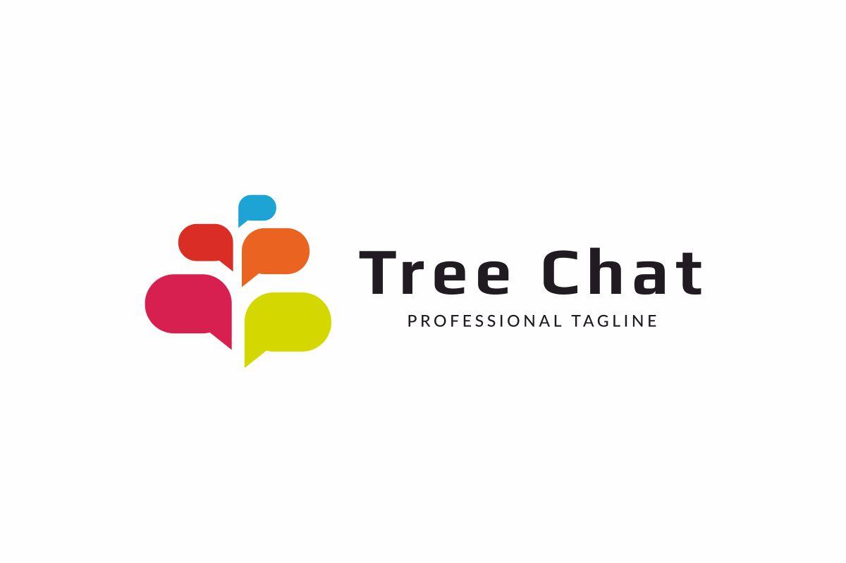 Tree Chat Logo example image 2