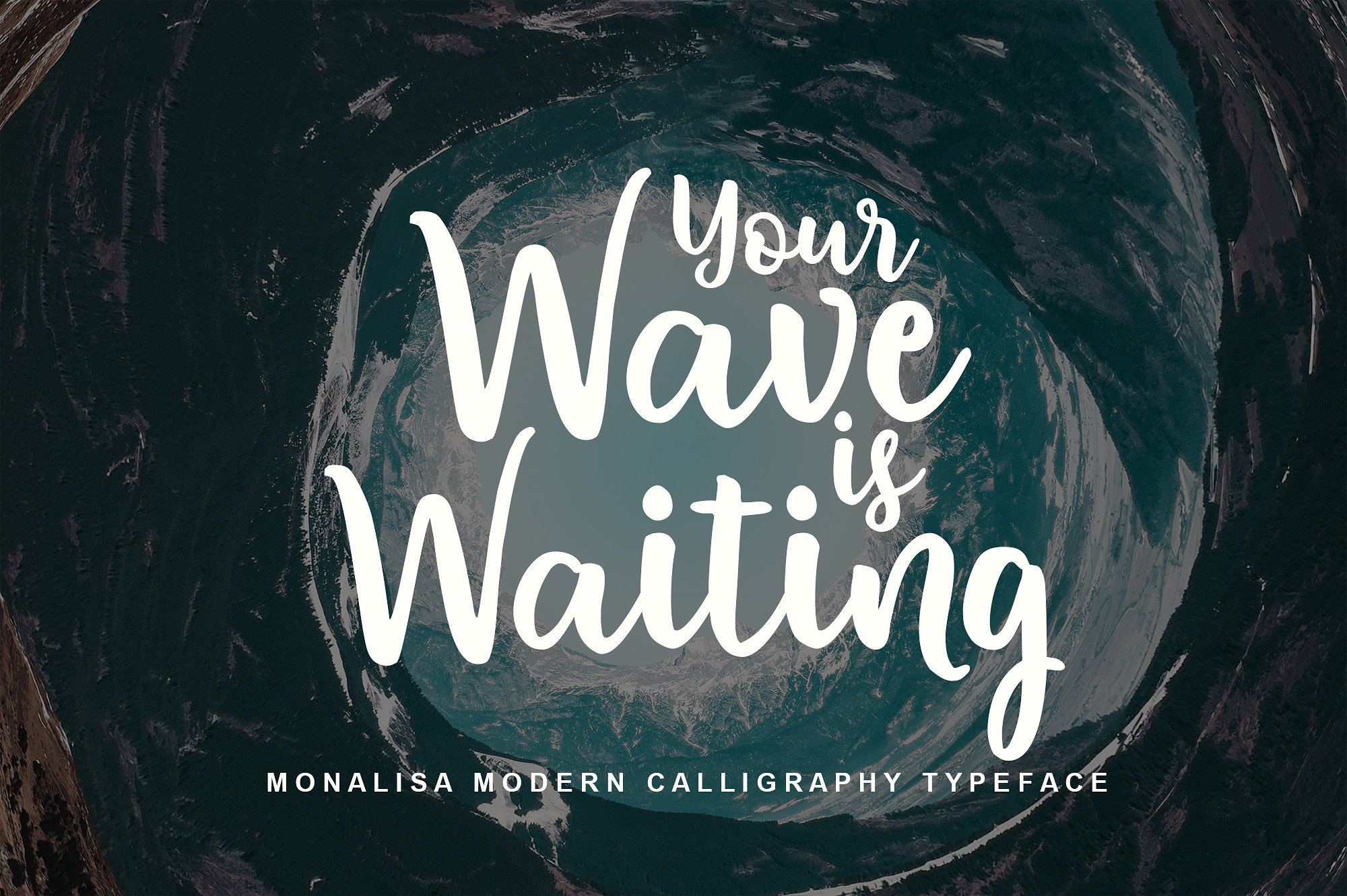 Monalisa Script example image 4