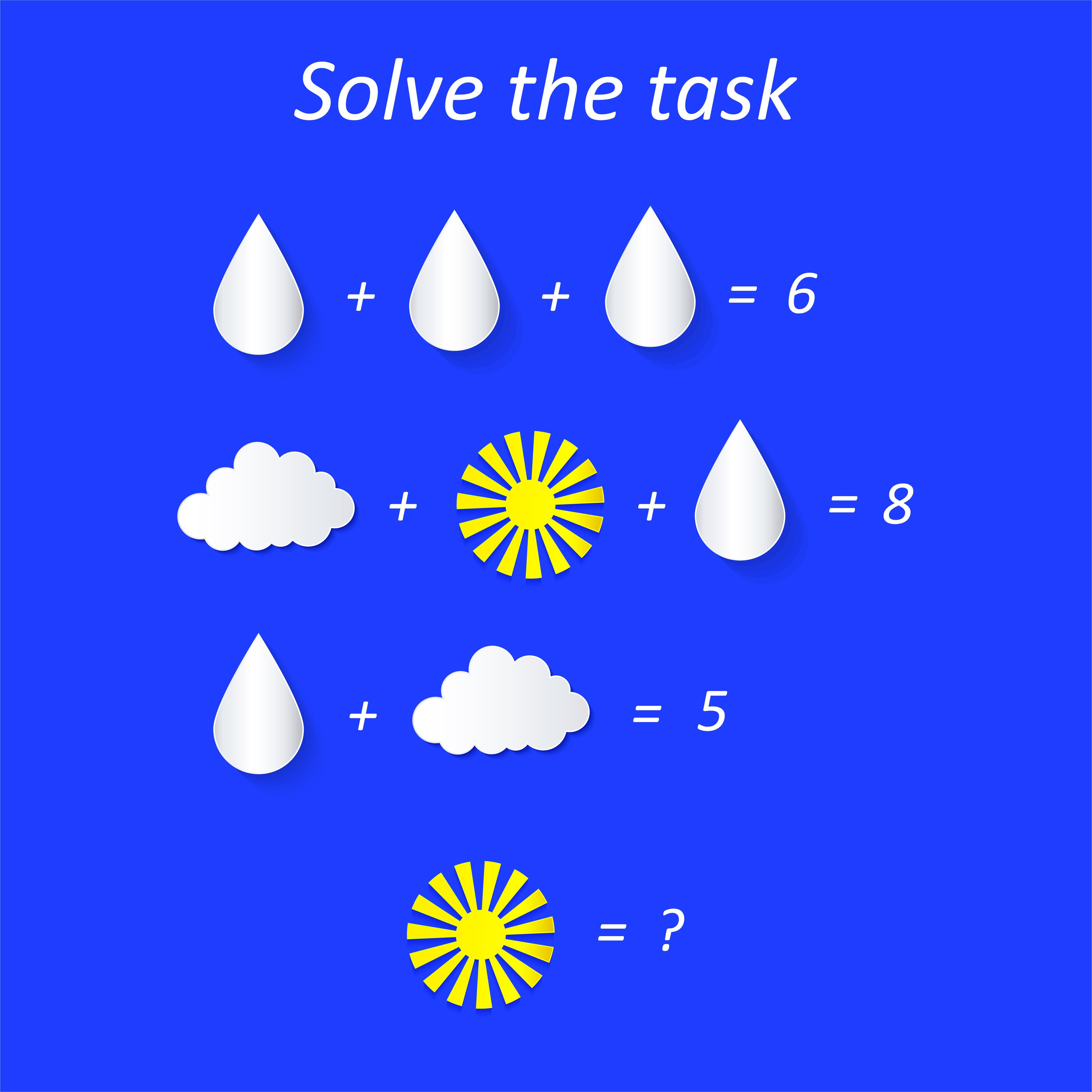 Easy preschool educational brainteasers set example image 12