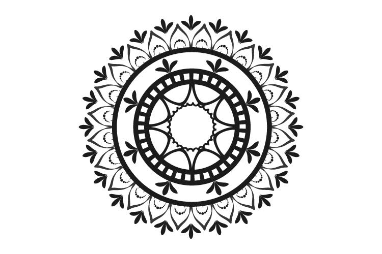Mandalas. Round forms. example image 12