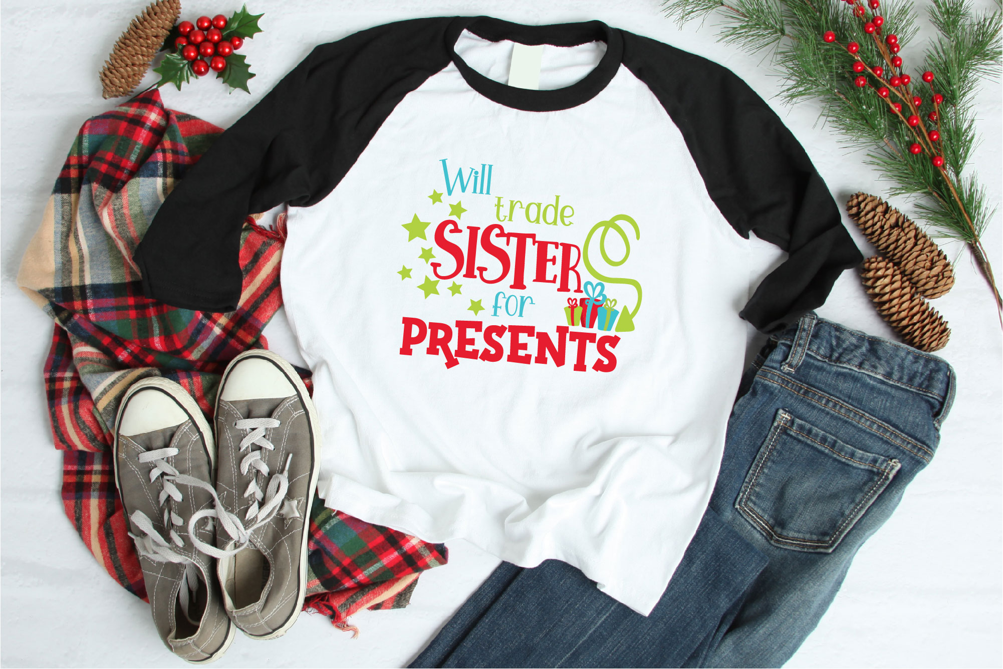 Christmas SVG, Kid's Christmas Bundle Sublimation example image 6
