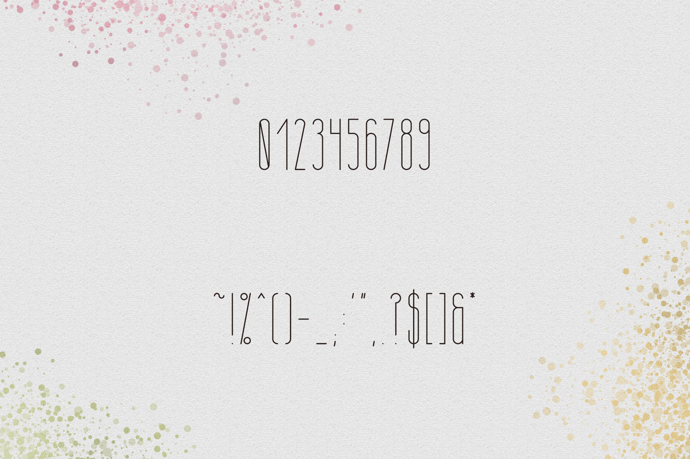 [Spring Vibes] April Display Font example image 9