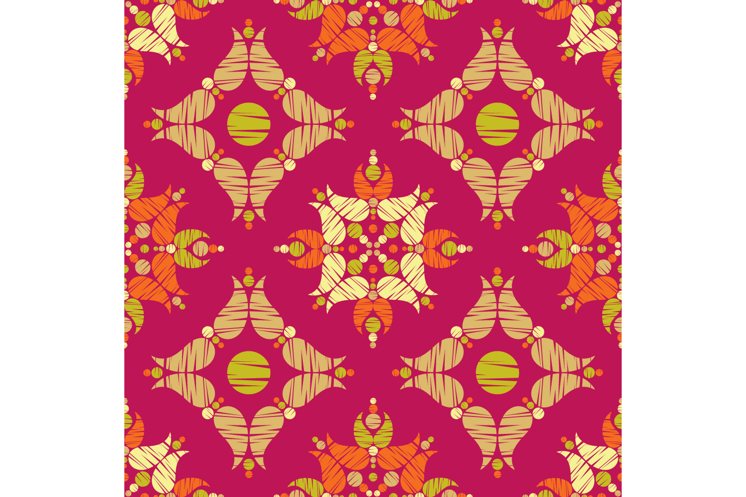 Paisley ornament. Set of 10 seamless patterns. example image 3
