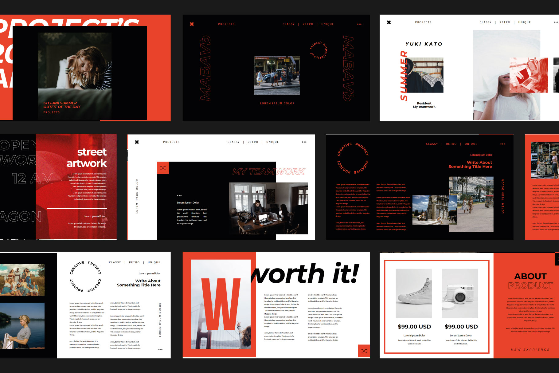 XGdragon Business Presentation Template example image 5