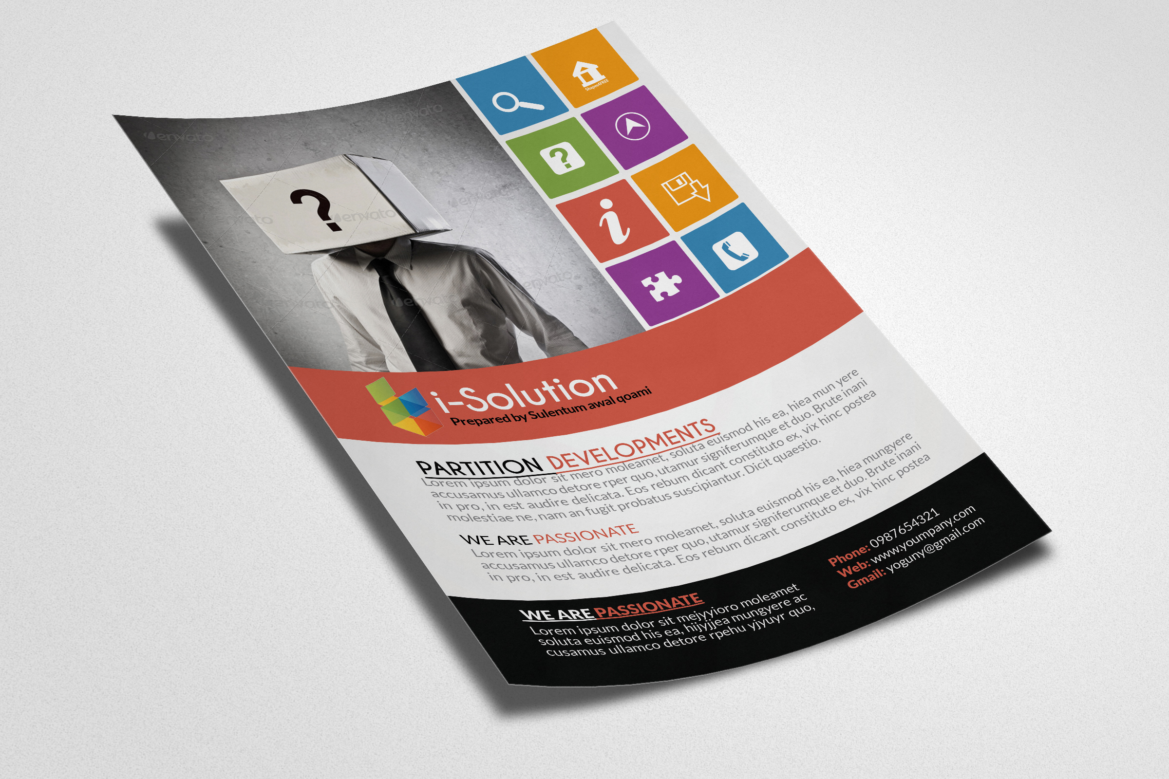 Business Idetification Flyers example image 3