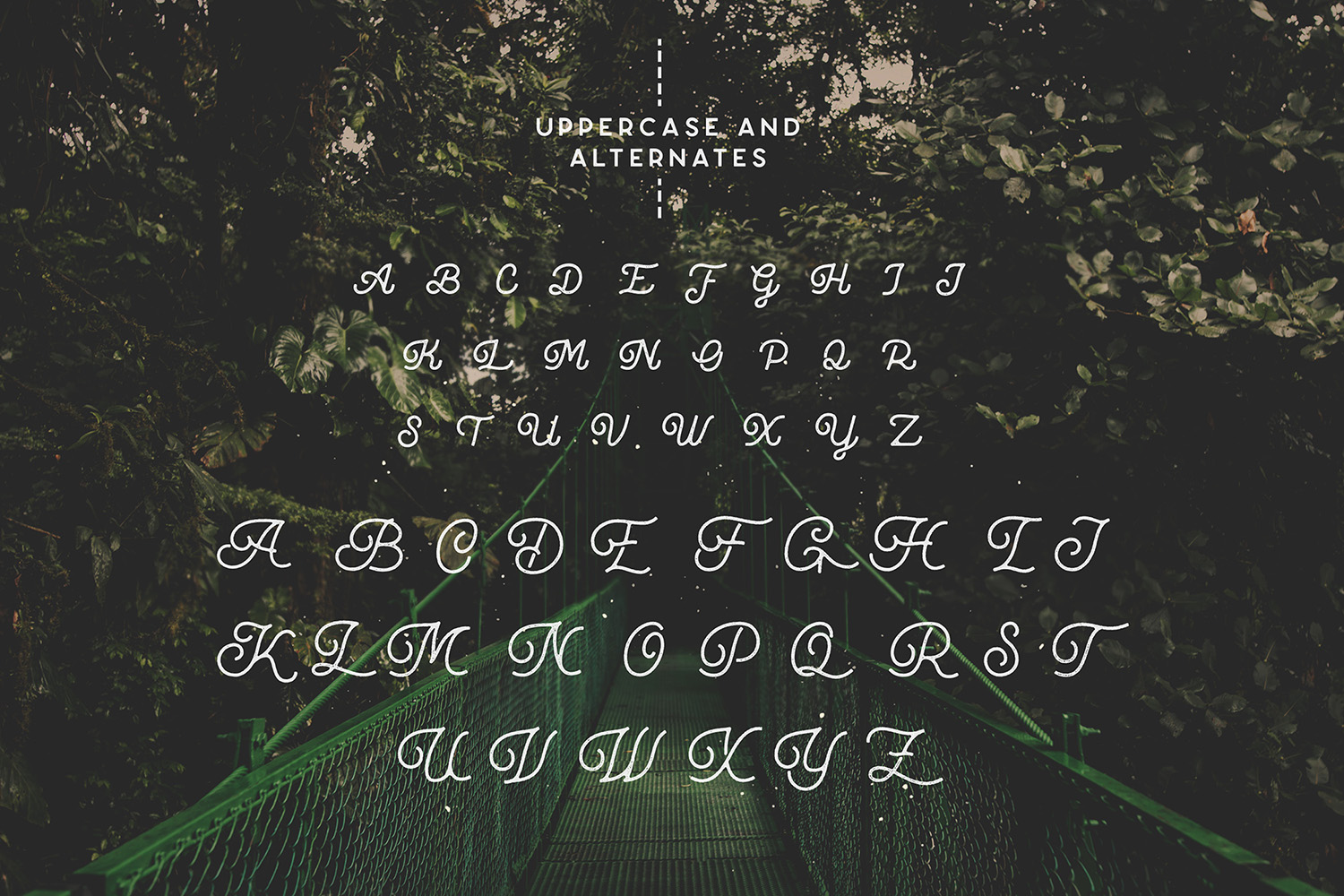 Riverfall Semi Rounded Textured Typeface Ver.2 example image 10