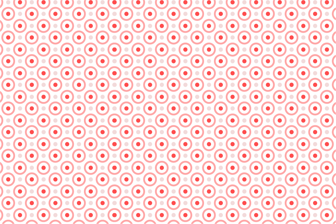 Dotted seamless patterns. Vector set example image 3