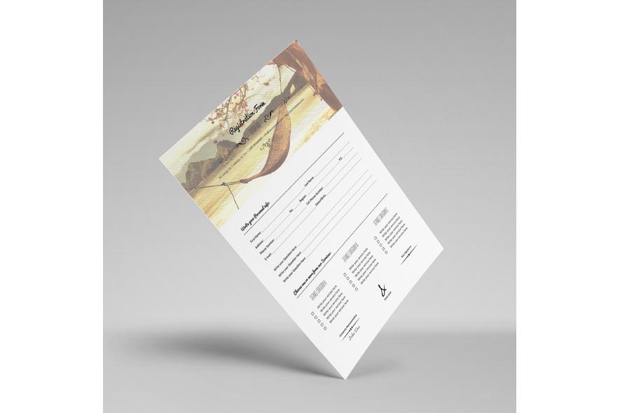 Registration Form Template v12 example image 2