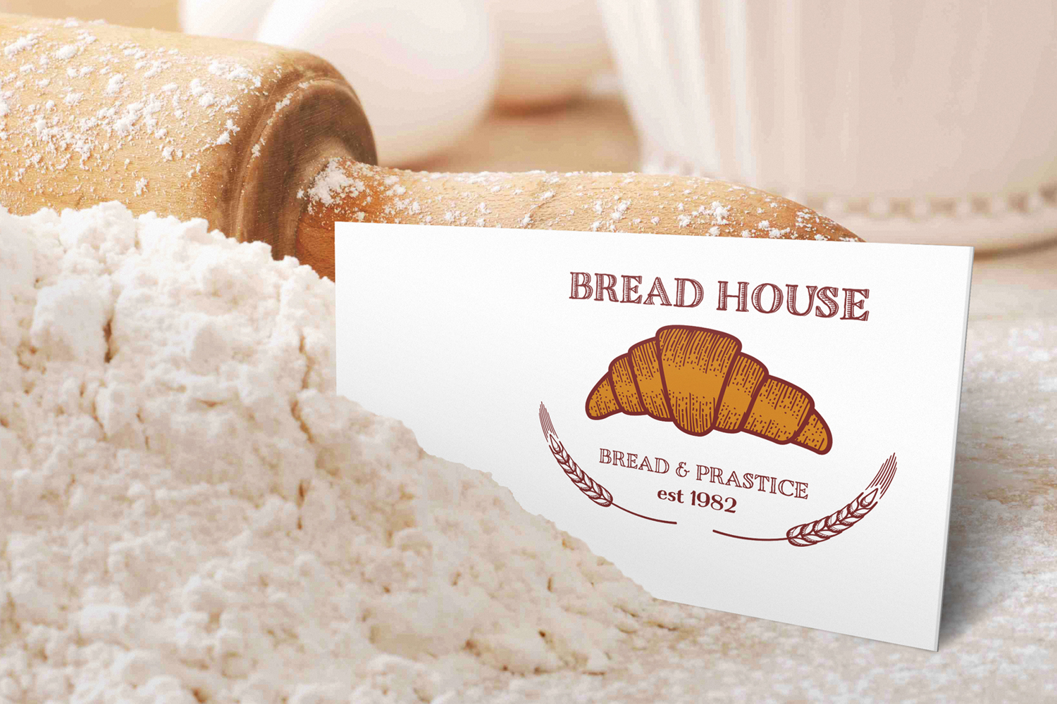 50 Bakery logos with fresh bread example image 3