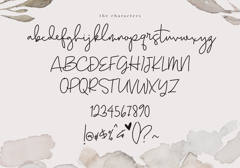 Earthy - A Handwritten Script Font example image 10