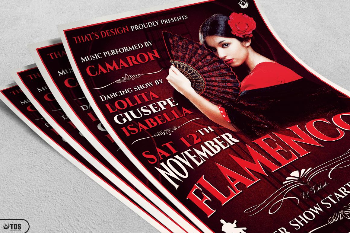 Flamenco Flyer Template V2 example image 3