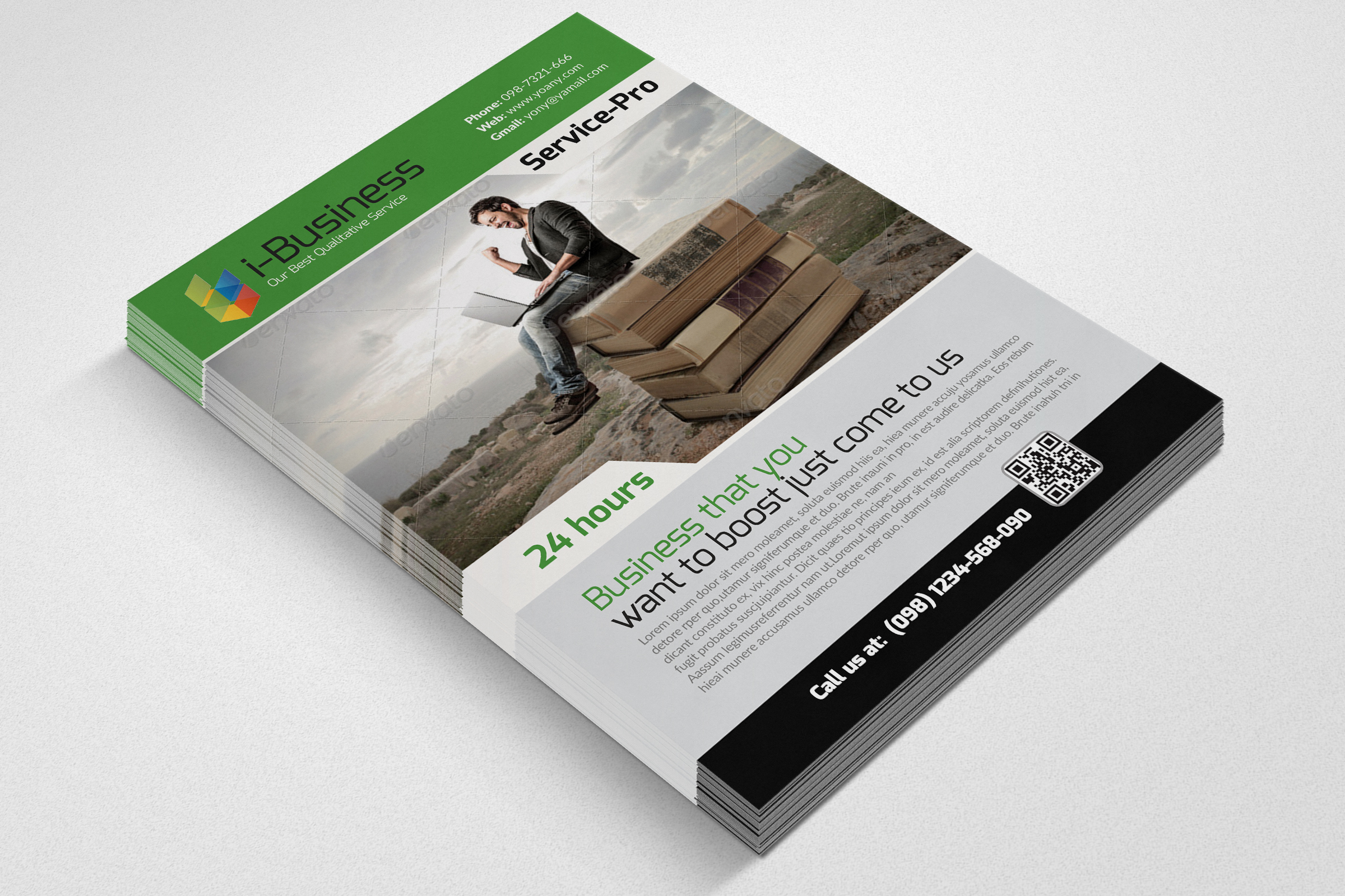 Business Solution Flyers example image 3