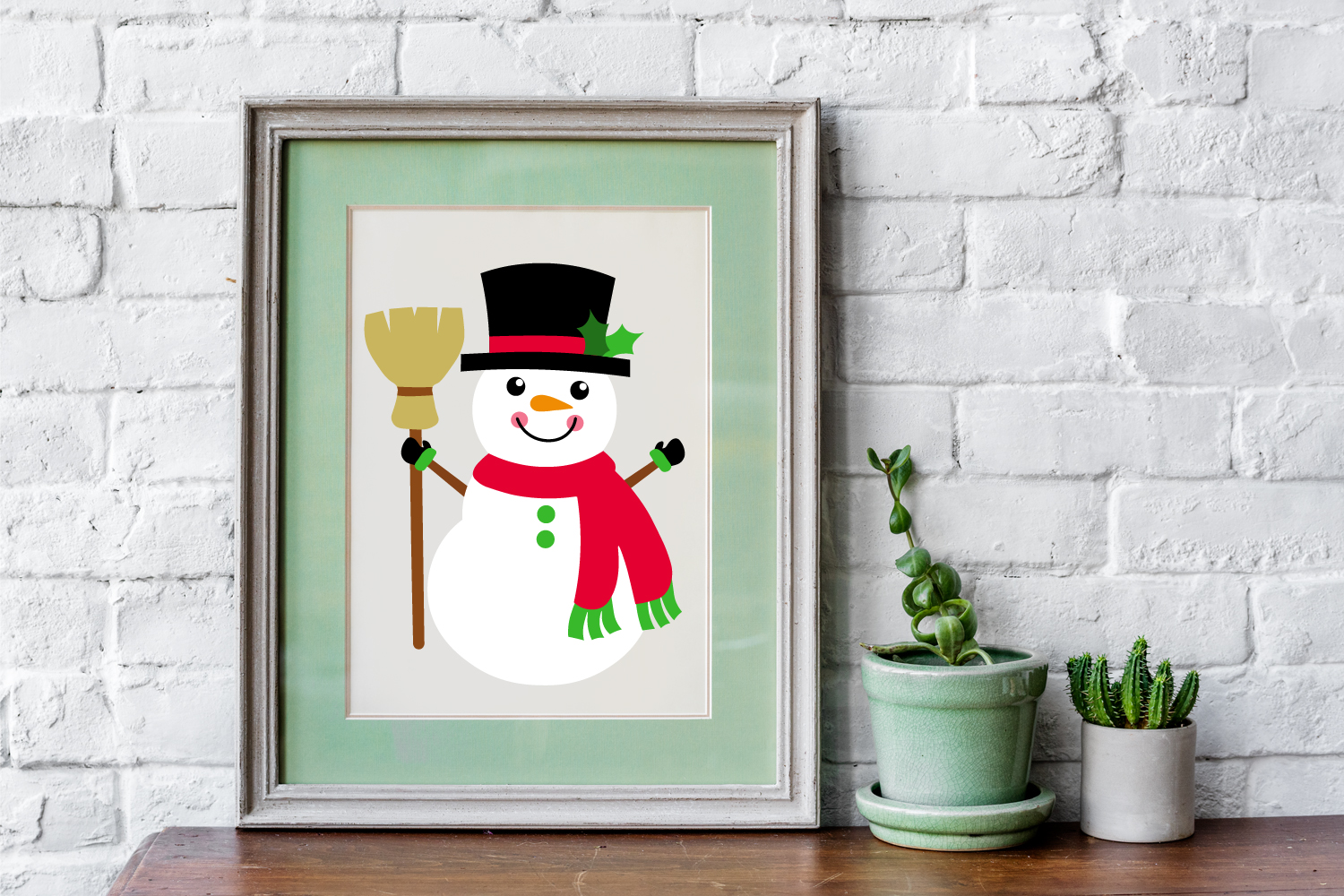 Snowman Bundle example image 3