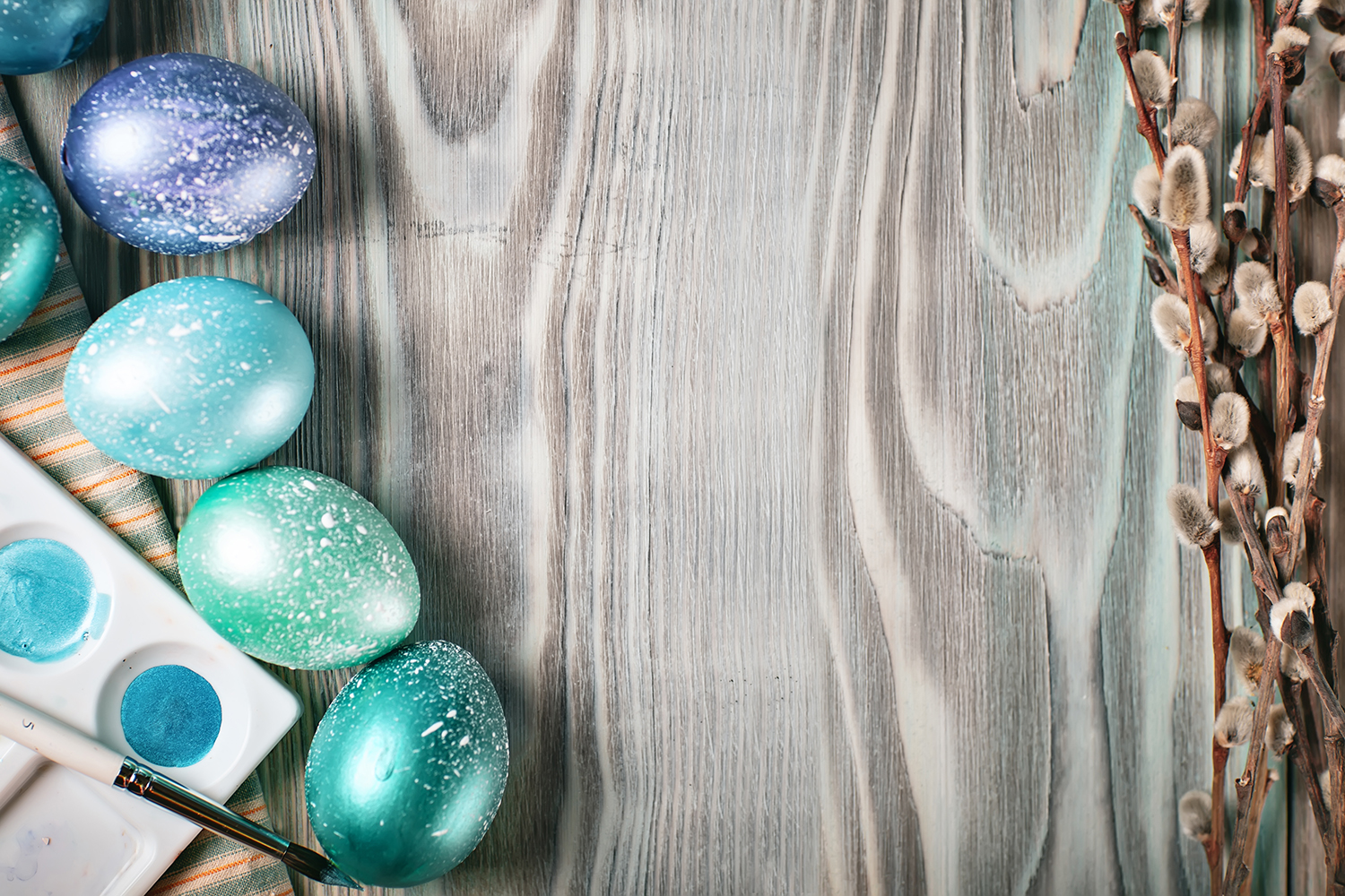 Bundle of greeting Easter backgrounds. example image 11