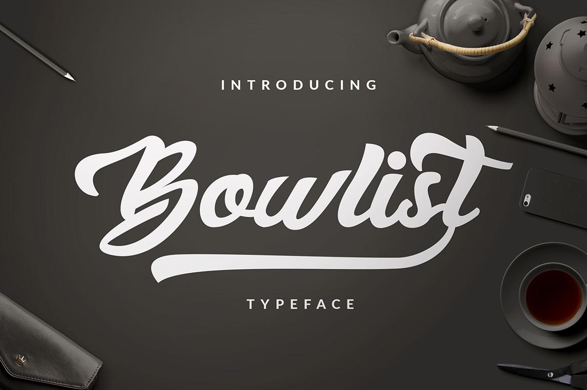Bowlist  Logotype example image 2