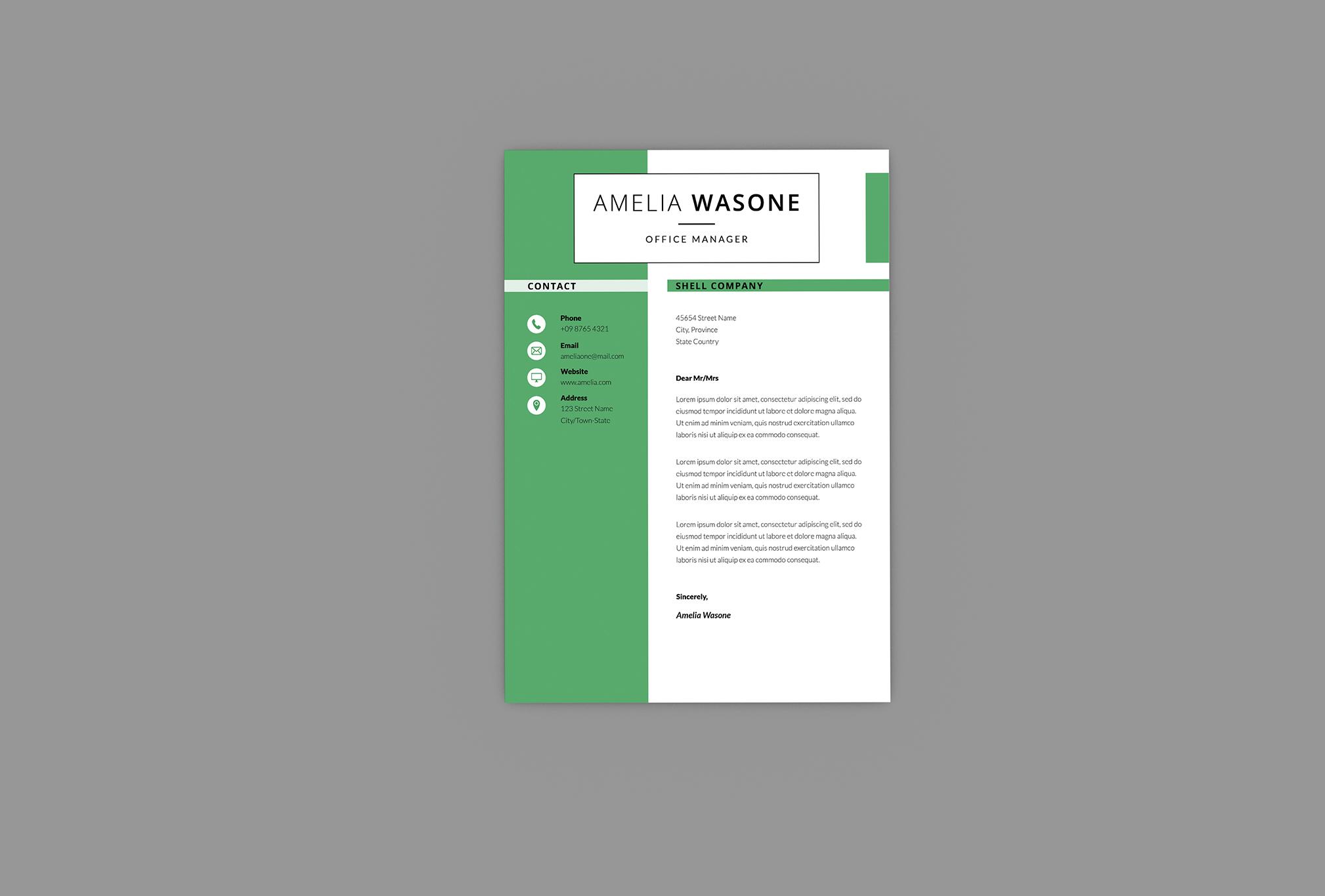 CV Vitality Resume Designer example image 2