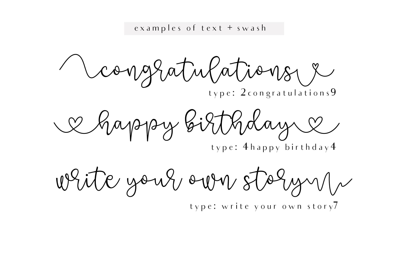 Grateful - Handwritten Script Font example image 10