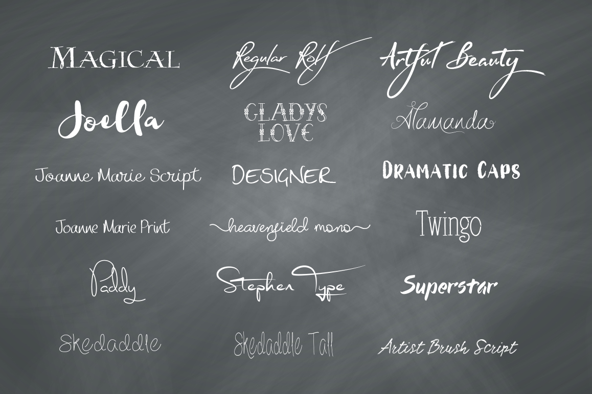 Funky Font Bundle example image 2