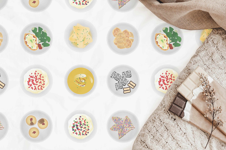 Australian Cuisine Food Seamless Pattern Bundle example image 5