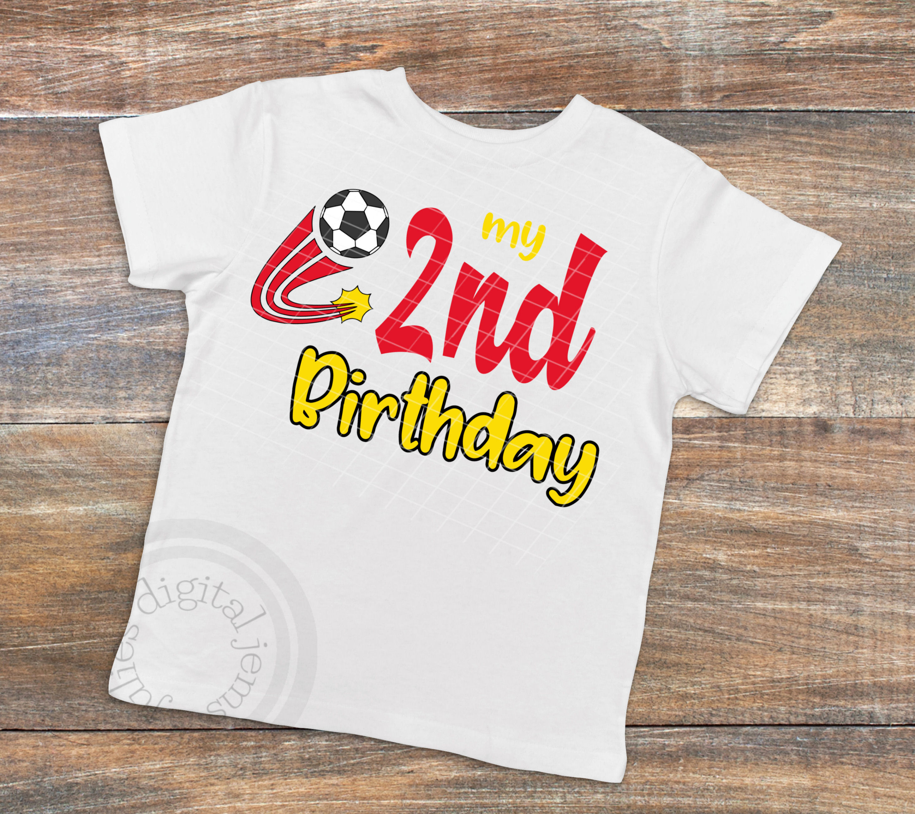 4aa36c5f 2nd Birthday Soccer svg, Soccer Birthday shirt svg, example image 2