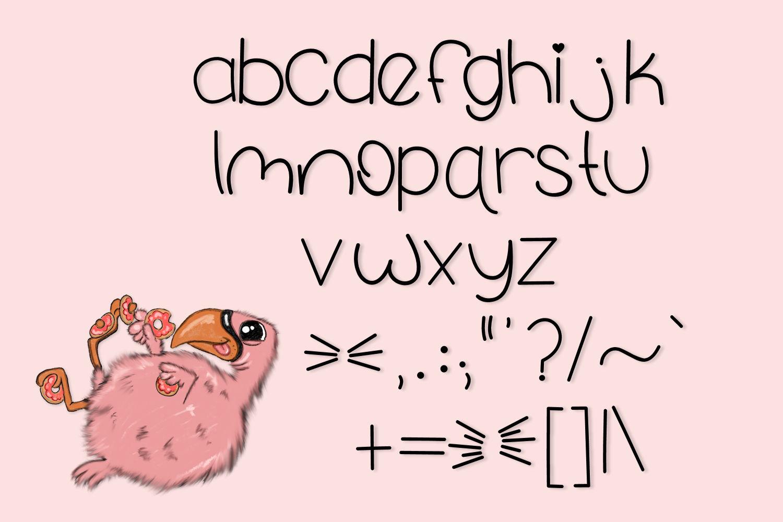 Fluffy Flamingo, A Fun Handwritten Font example image 5