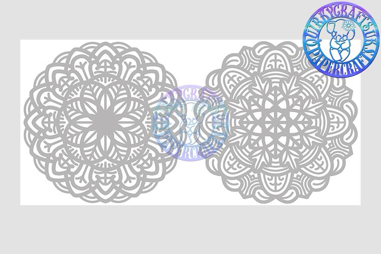 Big Bundle JULY 2018 - 31 Papercutting Templates example image 23