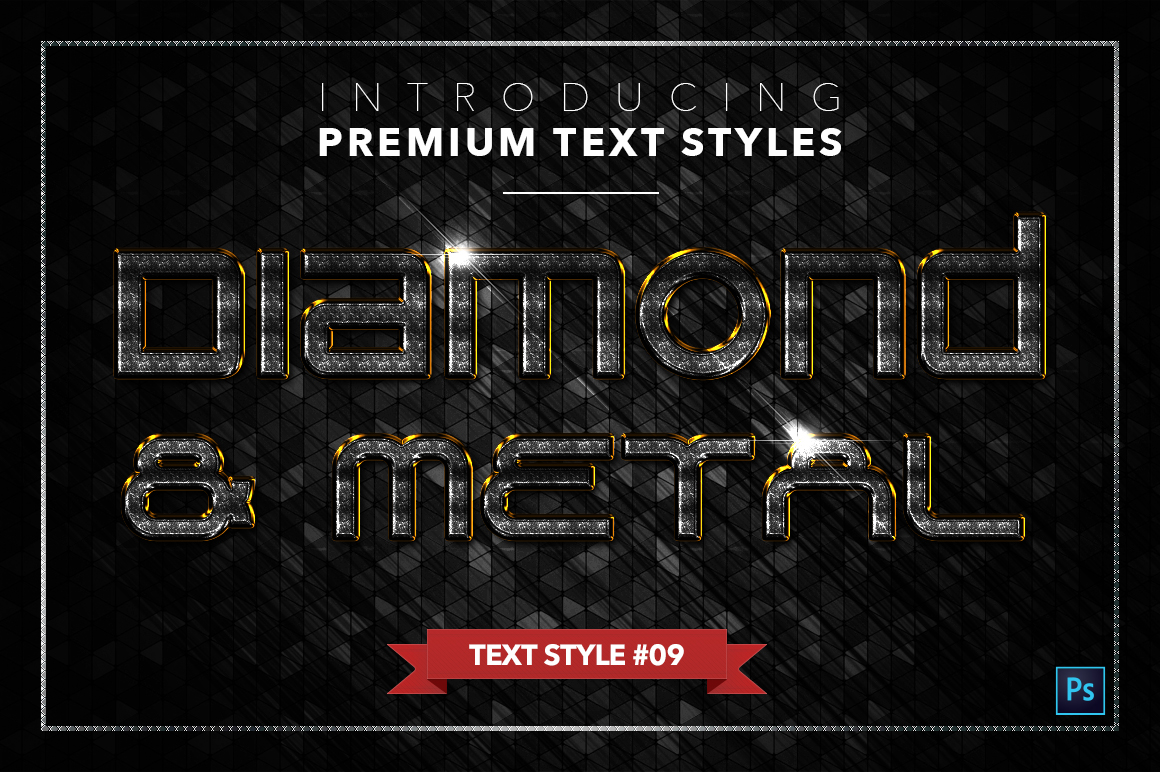 Diamond & Metal #3 - 18 Text Styles example image 10