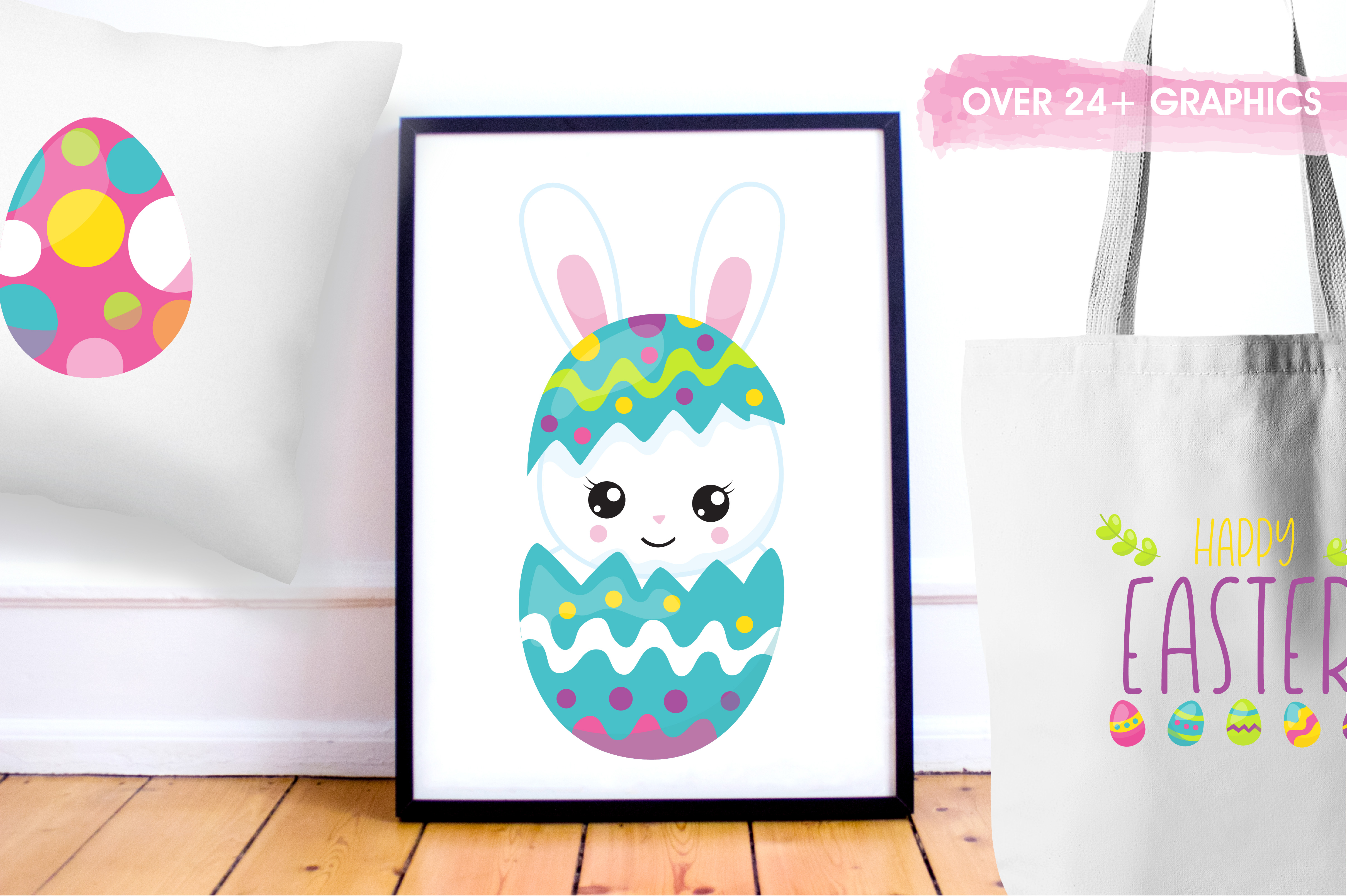 Happy Easter graphics and illustrations example image 5