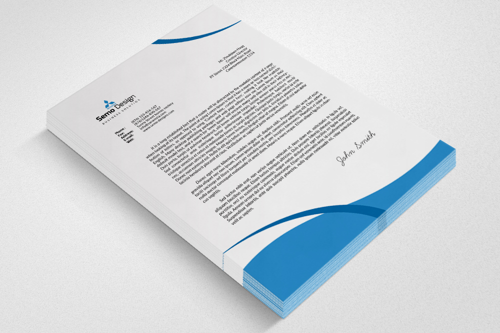 Business Letterhead example image 2