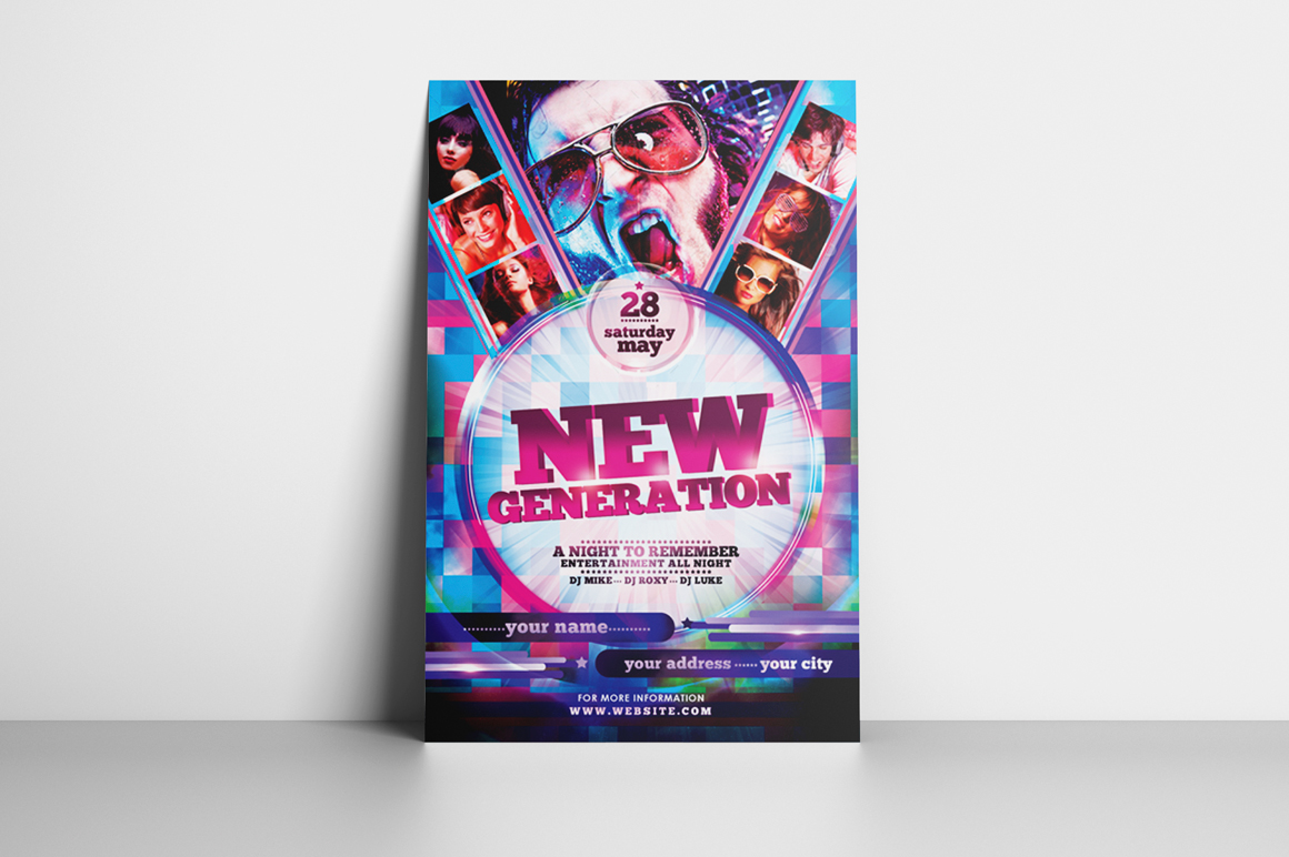New Generation Flyer Template example image 2
