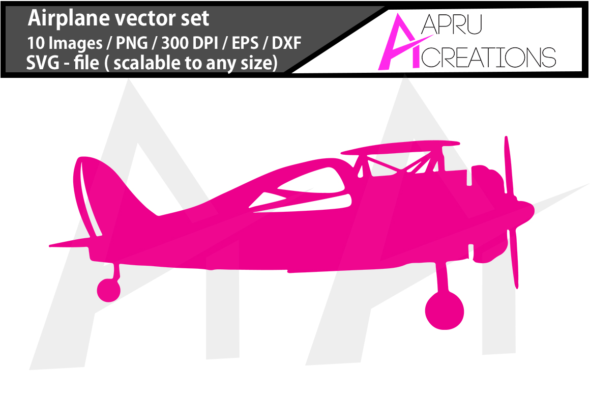 Airplane, aeroplane colour images,  printable aeroplane,  SVG cut FILES, airplane silhouette, digital files example image 2