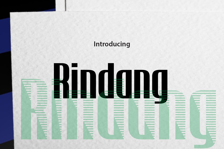 Rindang example image 1