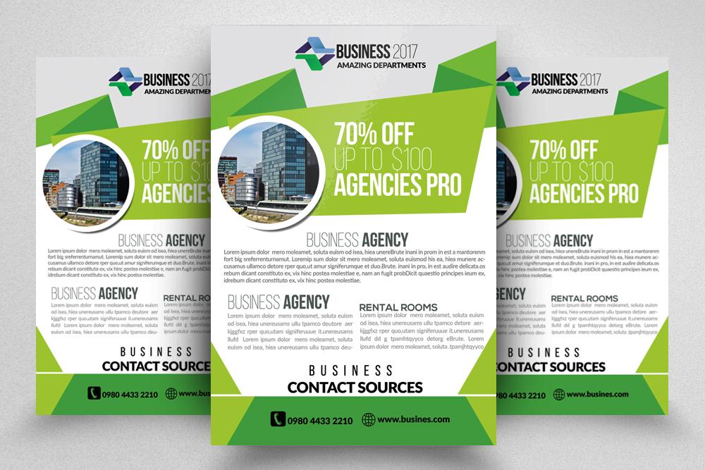 10 Corporate Flyer Templates Bundle example image 6