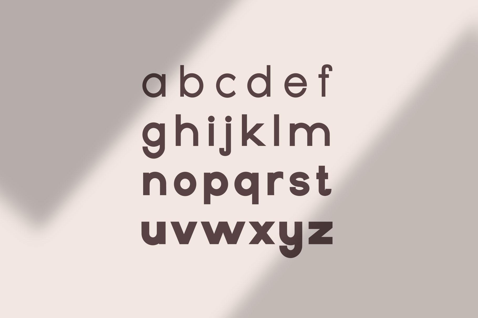 Geometrique | Sans Font Family example image 4