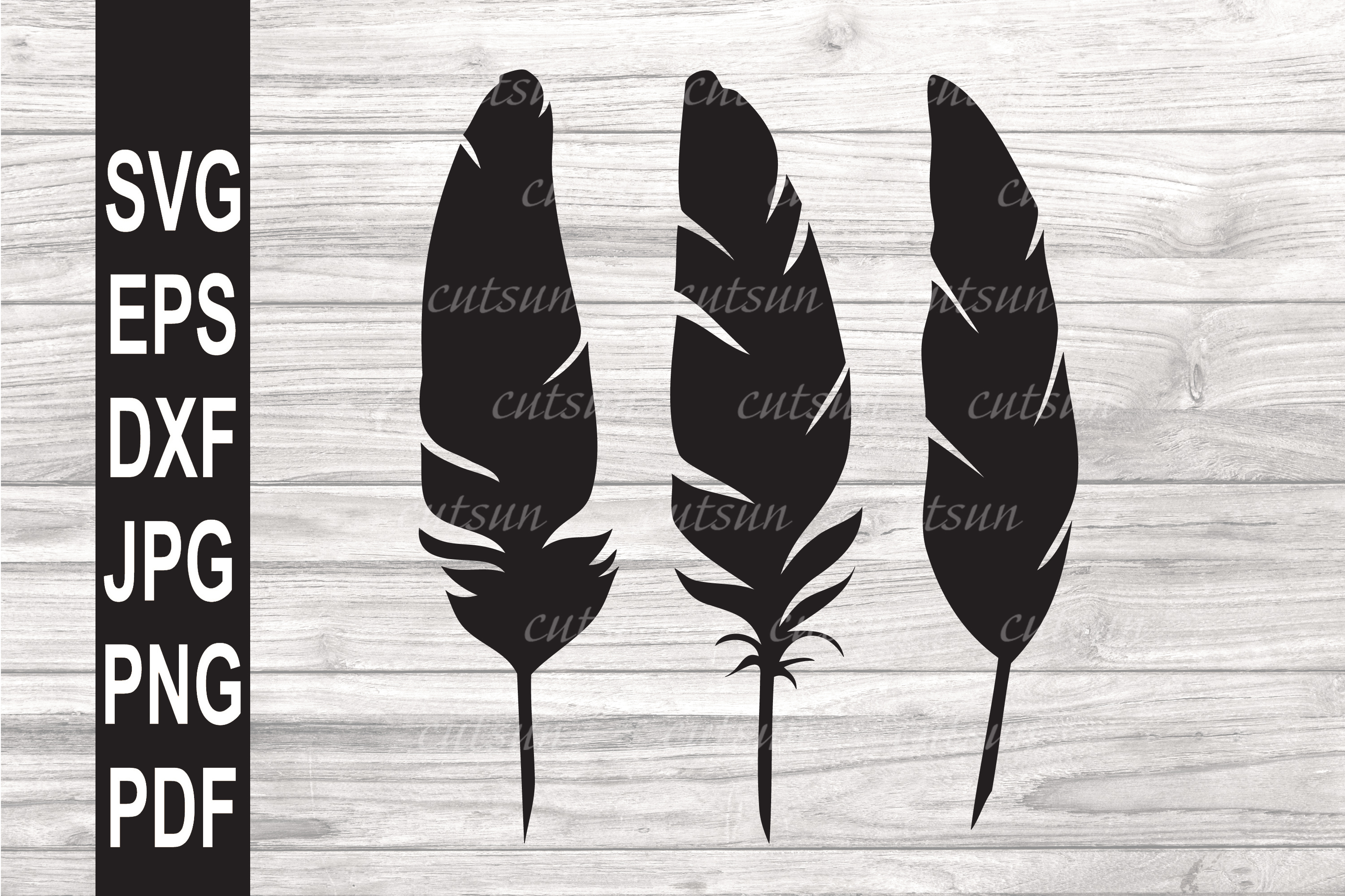 FEATHERS SVG example image 1