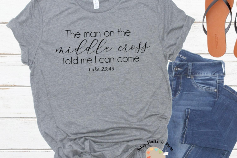 Easter svg Christian Faith t-shirt svg Cross svg Jesus svg example image 1