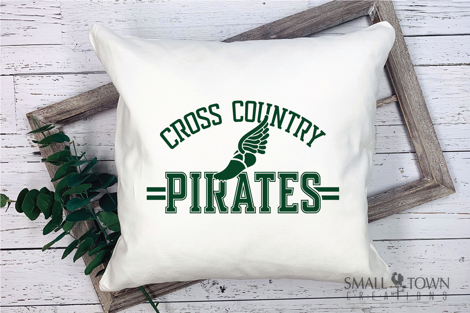 Pirate Cross Country, Sports, Logo, PRINT, CUT & DESIGN example image 3