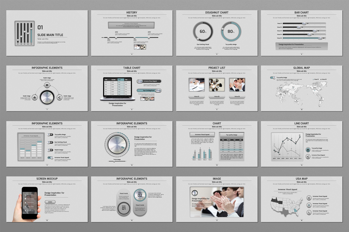 Volume PowerPoint example image 3