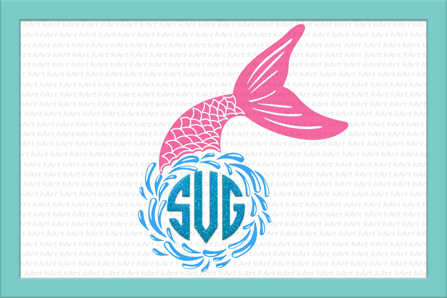 Unicorn Mermaid bundle svg dxf files clipart printable png example image 6