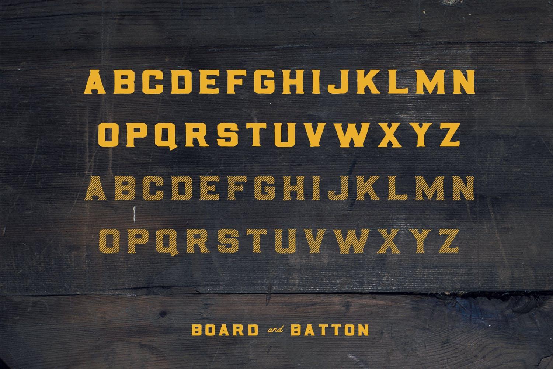 Board and Batton | A Bold Serif example image 2