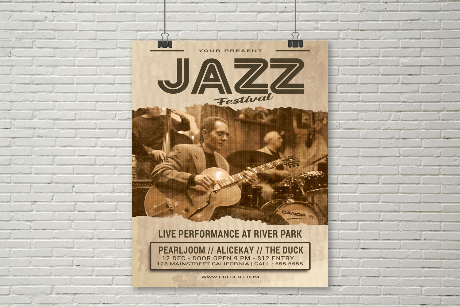 Jazz Festival Flyer example image 2