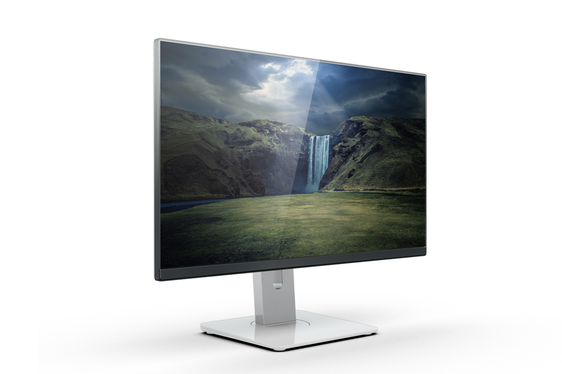 Monitor U2414h Mockup example image 6