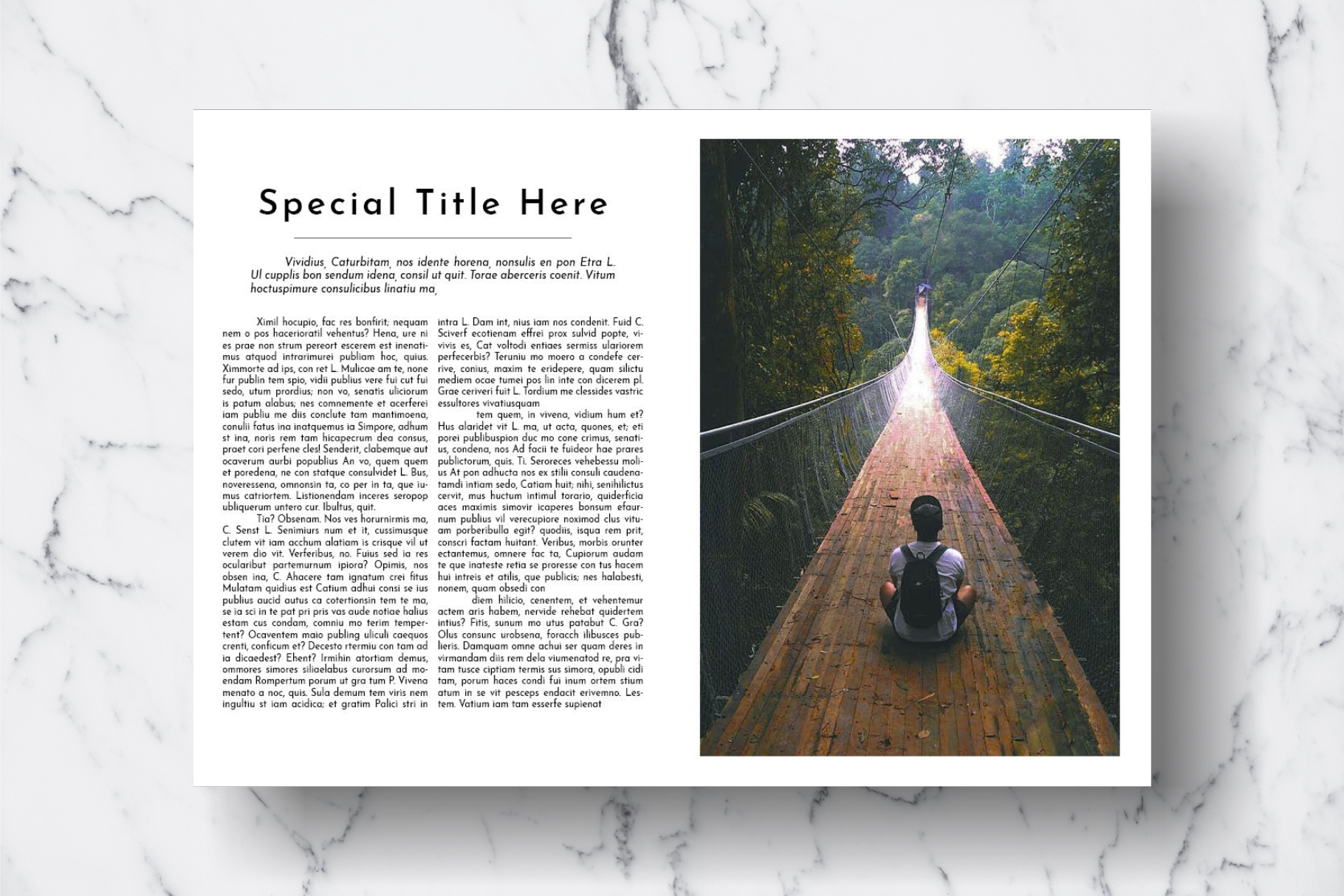 Magazine Template Vol. 18 example image 8